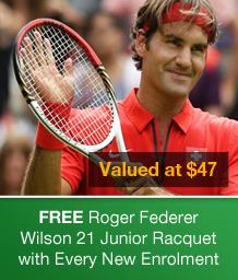Roger Federer Wilson 21 Racquet